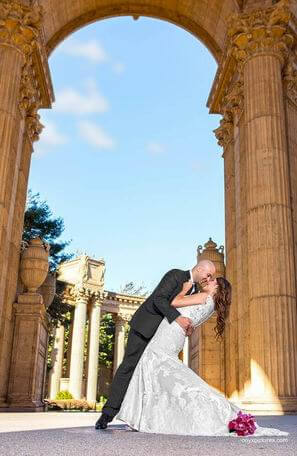 Wedding Photography - Palace of Fine Arts