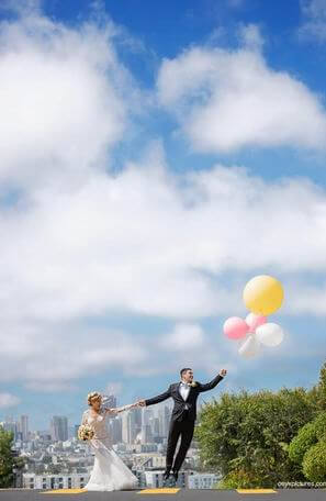 Wedding Photography – SF - Ballons