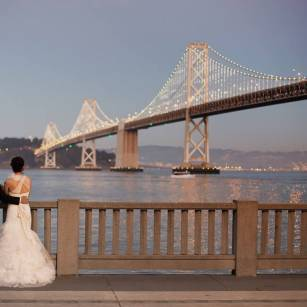 Wedding Photography – SF - Bay Bridge