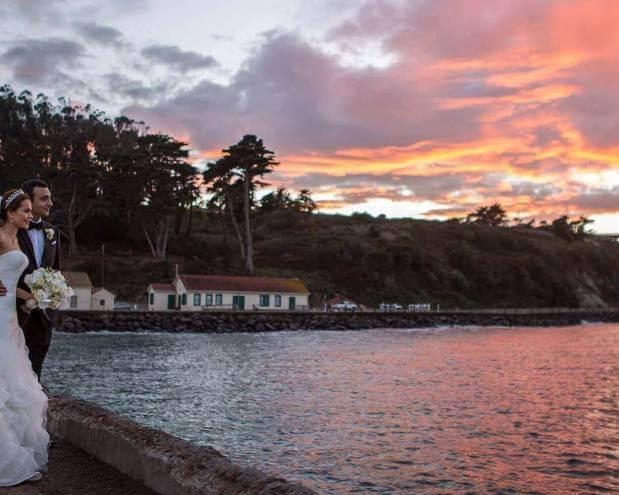 Wedding Photography – SF Sunset - Golden Gate